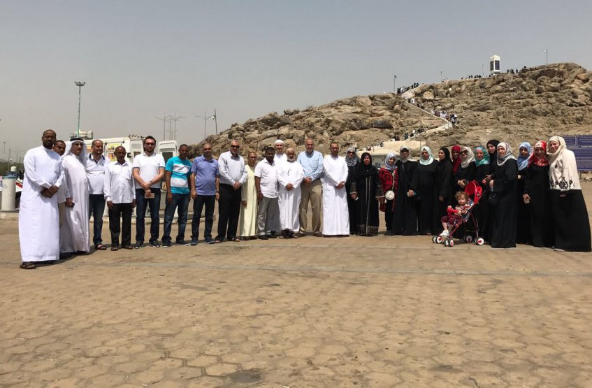 35 Employees from AAU Performing Umrah