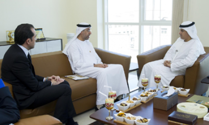 AAU Chancellor received the General Secretary of FNC