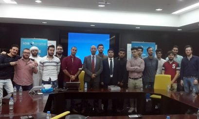 A Scientific Trip for AAU students to ADIB