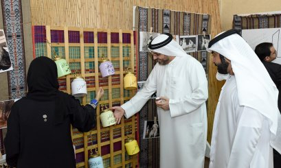 A heritage exhibition simulates past and present at AAU