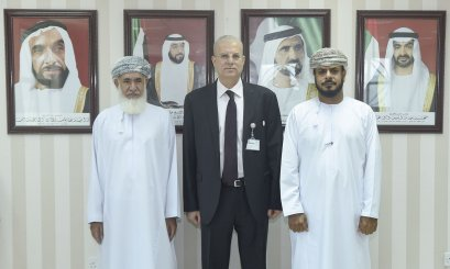AAU President and Omani Cultural Attaché discuss the cooperation aspects