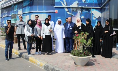 Media Students visit Abu Dhabi Media