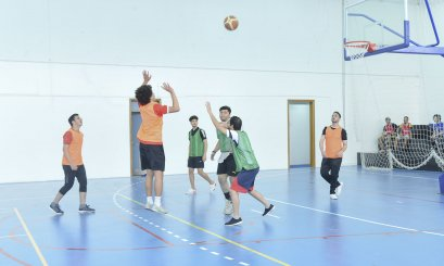 High performance for students in the Open Basketball Championship and Badminton