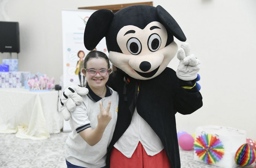 Entertainment Day for the Special need students