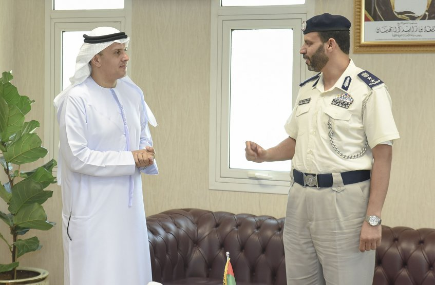 Visit of the AAU Chancellor to Al Ain Police Directorate
