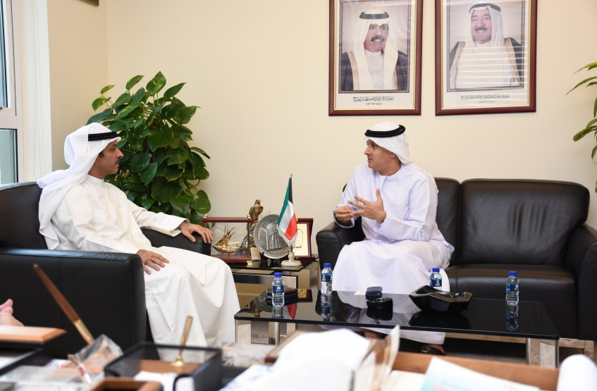 AAU Chancellor visit to the Consulate General of Kuwait