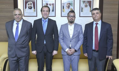 AAU discusses cooperation aspects with Harvard Business Review Arabia