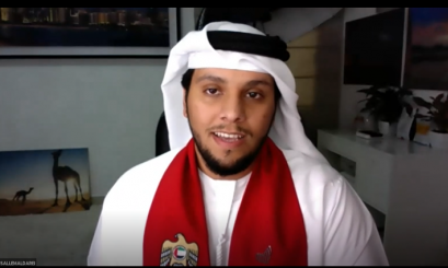 AAU celebrates the 49th UAE National Day remotely